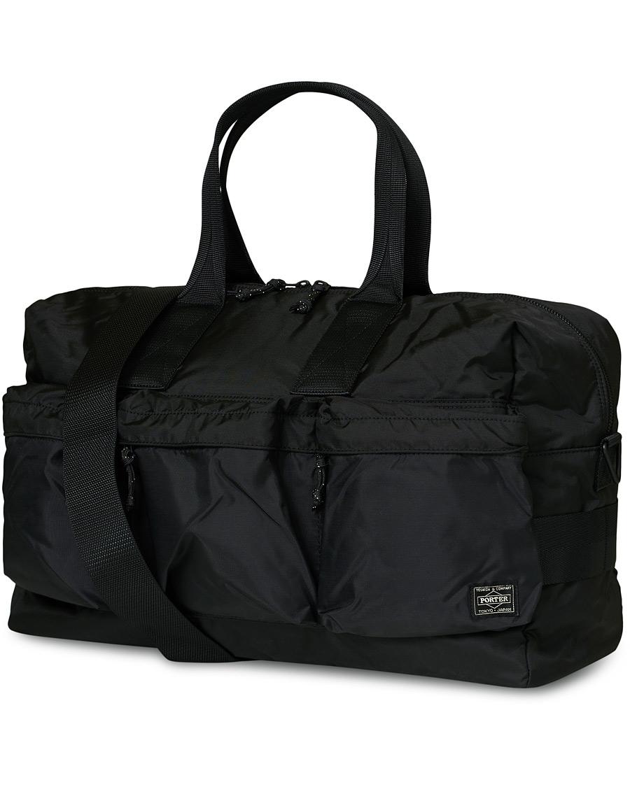 Porter Yoshida & Co. Force Duffle Bag Black