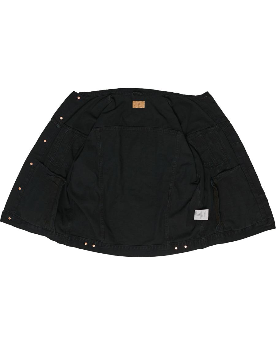 Nudie Jeans Bobby Denim Jacket Black Void hos