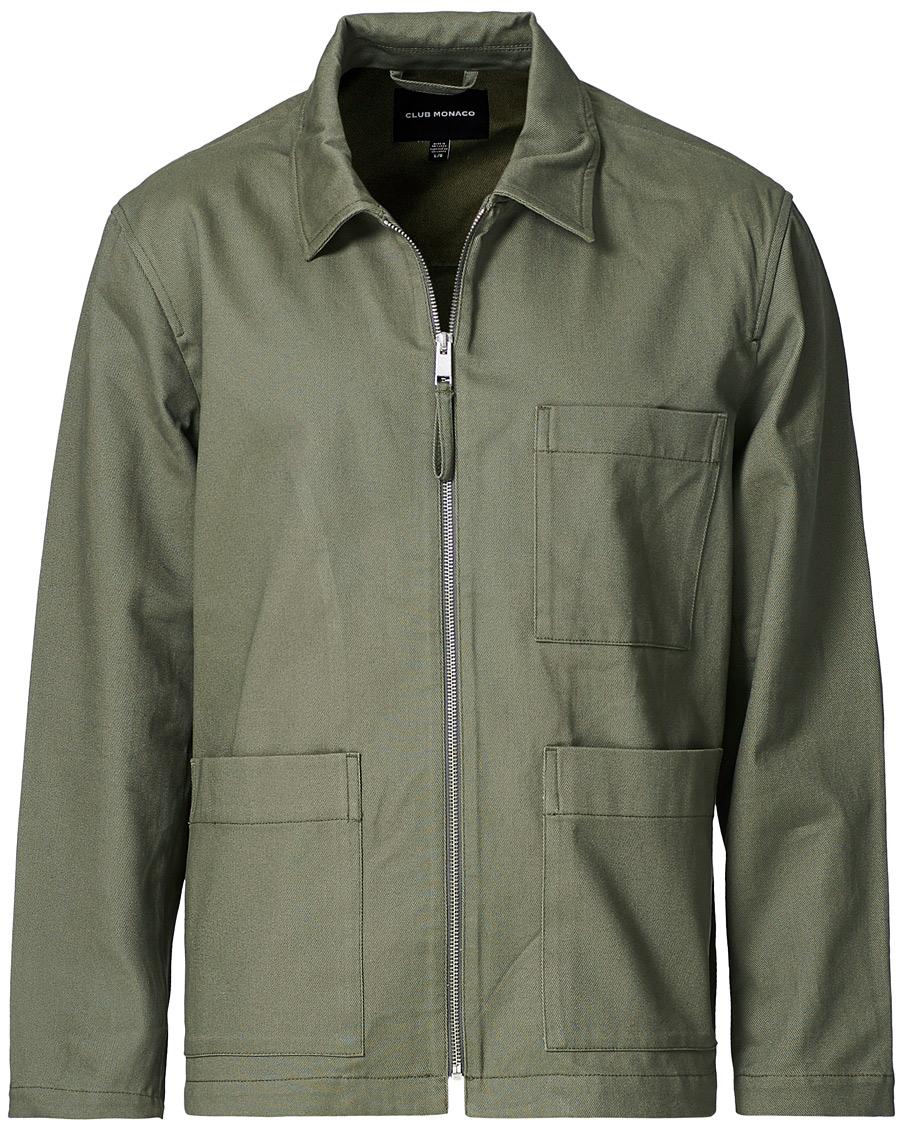 Club Monaco Utility Jacket Army Green S