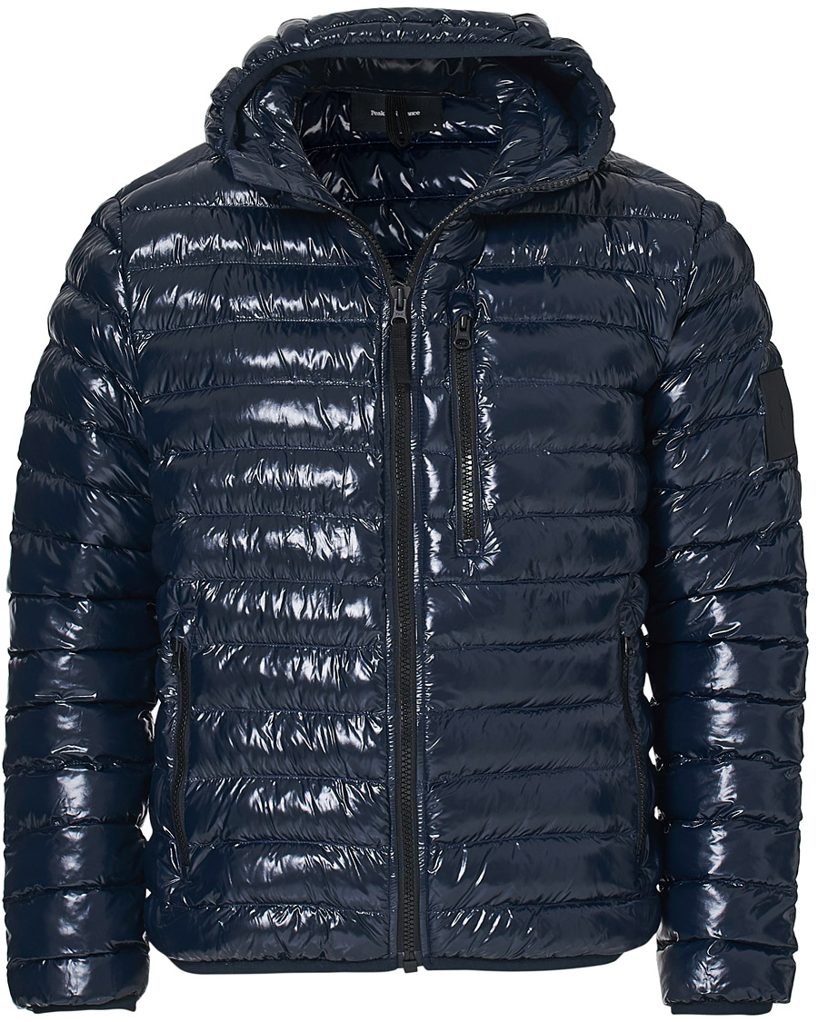 Peak Performance Ward Hooded Liner Jacket Salute Blue S