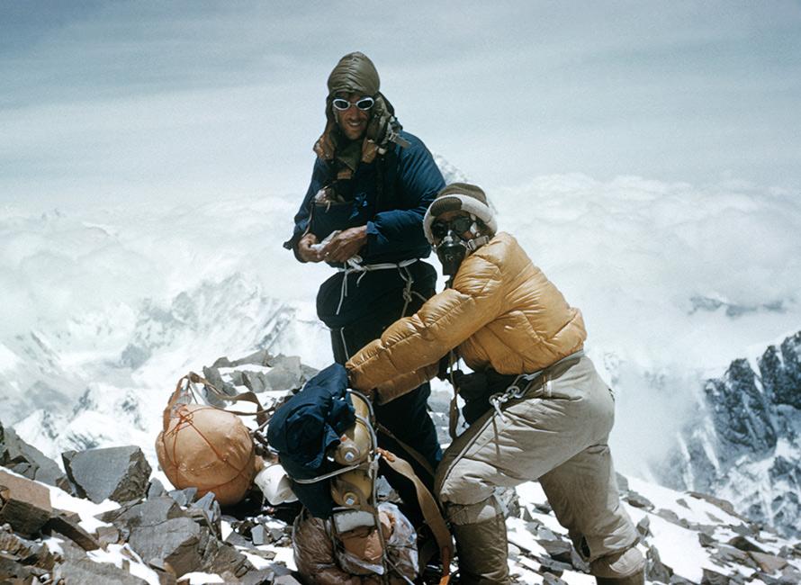 Tjock om Mount Everest   Tjock
