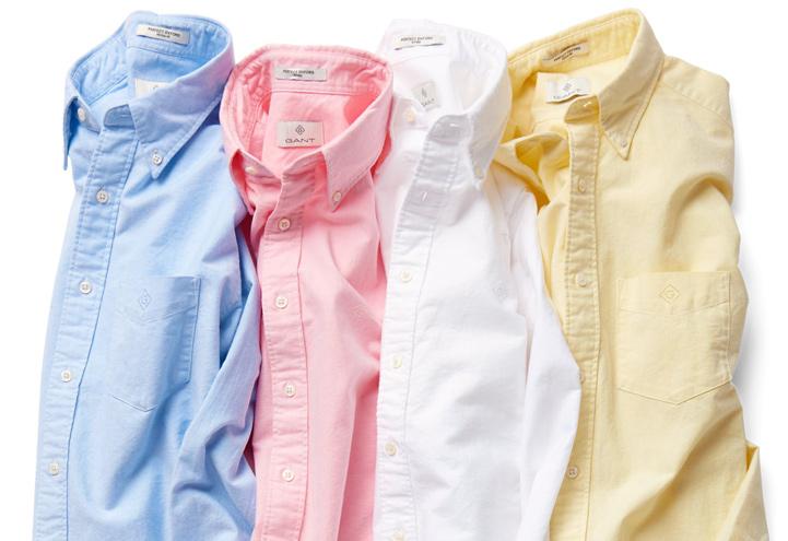 Urval av skjortor