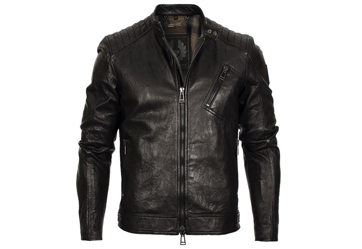 Belstaff K Racer Leather Jacket Black