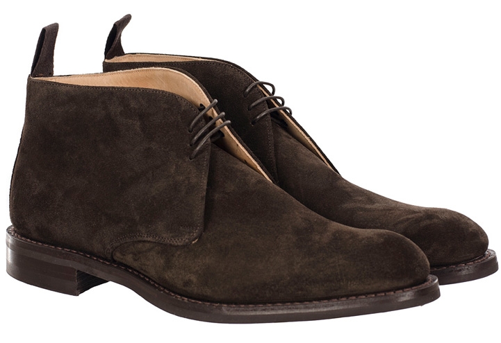 Cheaney Jackie III R Chukka Boot Pony Brown Suede