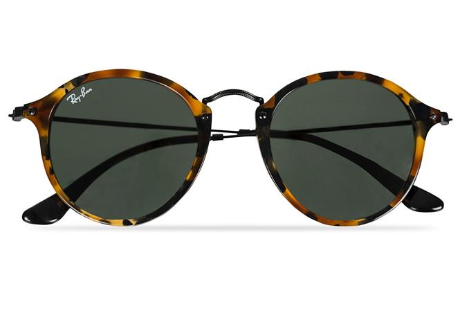 Skilpaddemønstrede solbriller