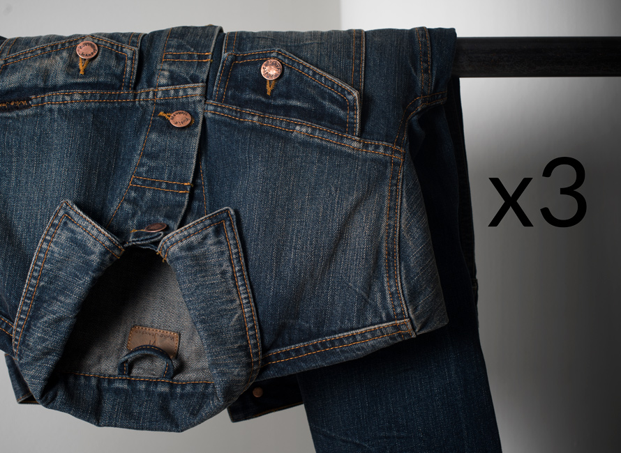 1 plagg, 3 outfits: Jeansjackan