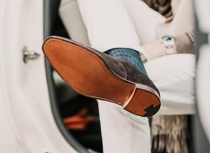 305dafad70a Stildebatten: Kan man bära lädersulor på hösten? | CareOfCarl.com