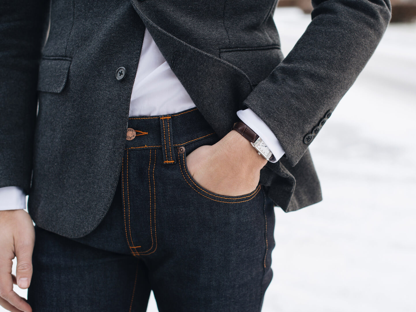 f8631dc9b4d Att bära jeans till kavaj | CareOfCarl.com