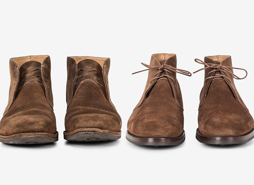 a7d13c84fb3e Renovering av skor: Från utsliten till ny | CareOfCarl.com