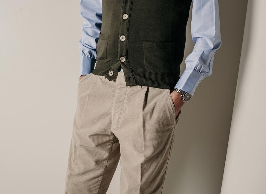 3 sätt att bära byxor med pleats a76364b34807a