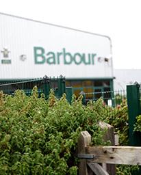 Besøk hos Barbour i Newcastle, England