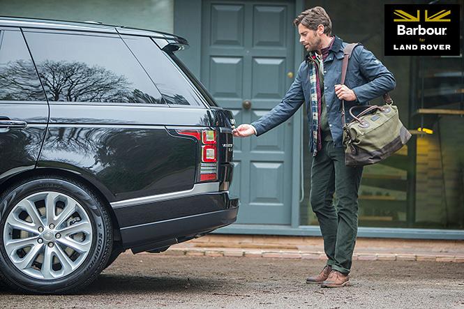 Barbour för Land Rover