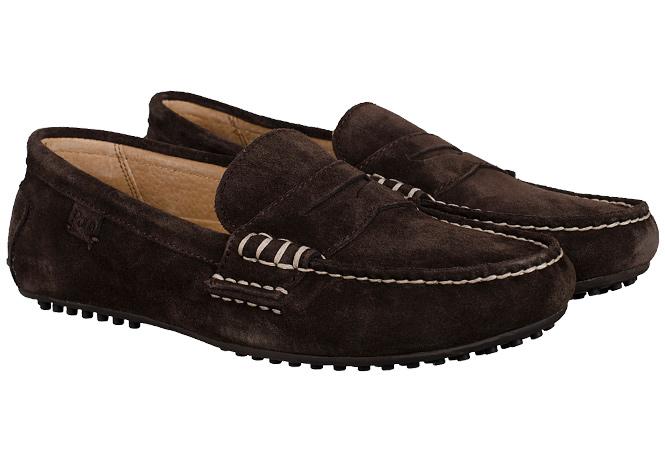 Polo Ralph Lauren Wes Car Shoe Dark Brown