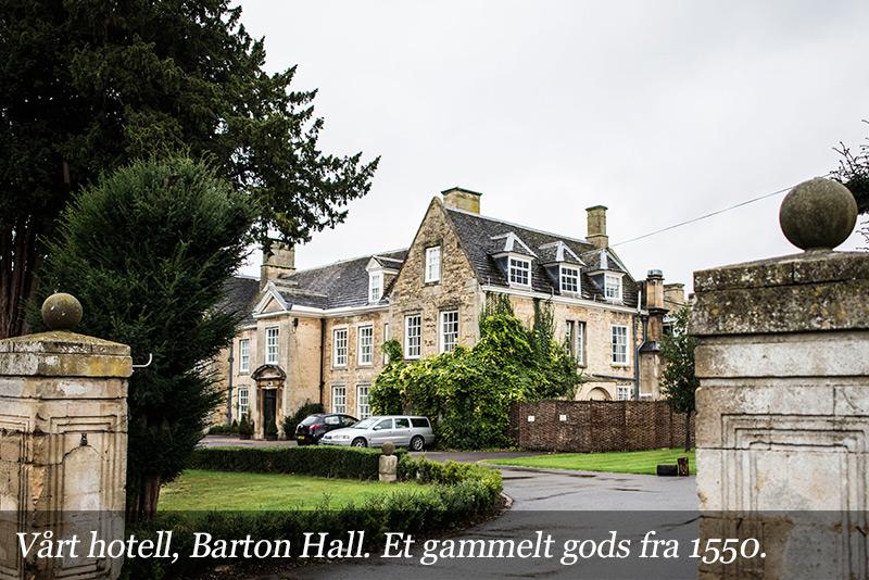Vårt hotell Barton Hall