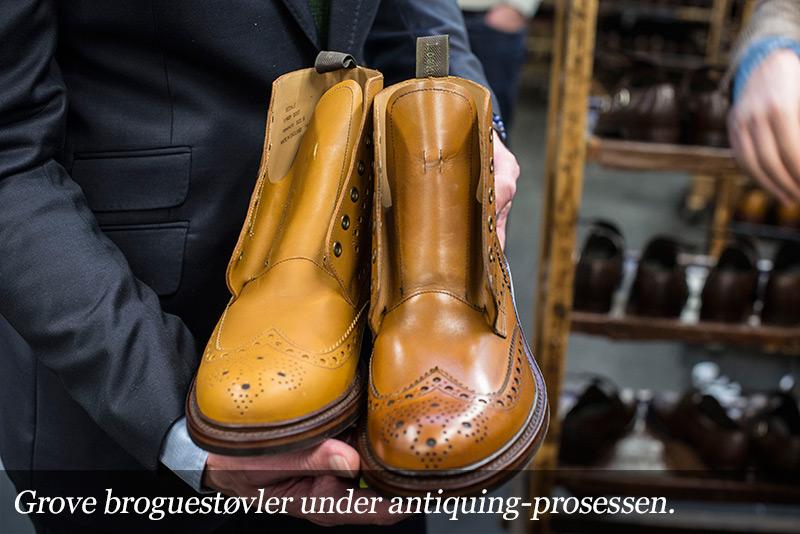 Brogue-støvler