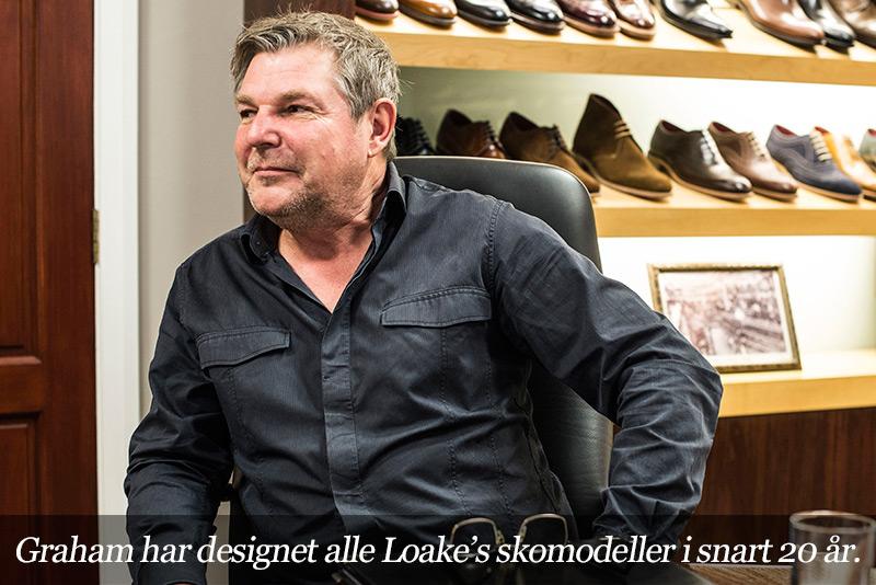 Loake's designer Graham