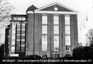 Wiskadal - Das prestigeträchtige Gebäude in Skaraborgsvägen 21