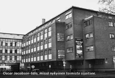 Uudet toimitilat Oscar Jacobson-talossa Boråsissa