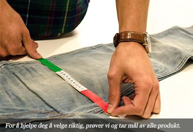 För att hjälpa dig välja rätt, provar och mäter vi alla produkter